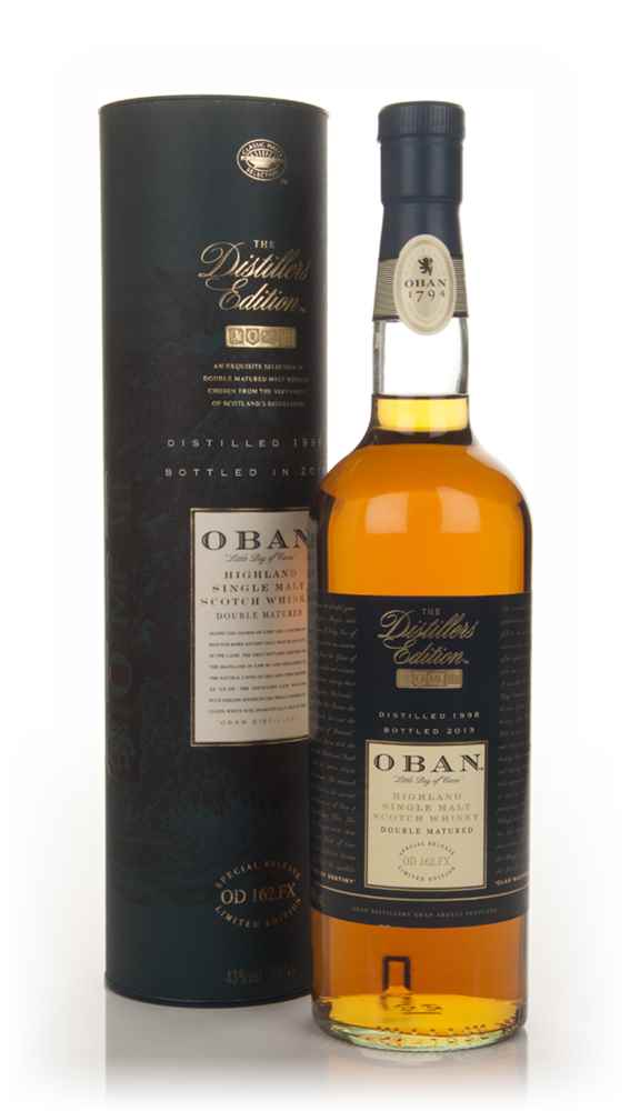 Oban 1998 (bottled 2013) Montilla Fino Cask Finish - Distillers Edition