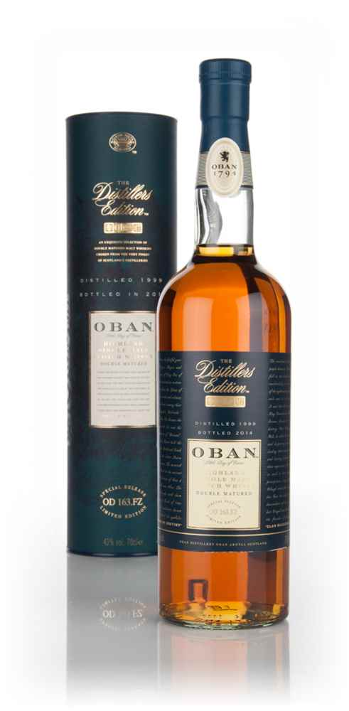 Oban 1999 (bottled 2014) Montilla Fino Cask Finish - Distillers Edition