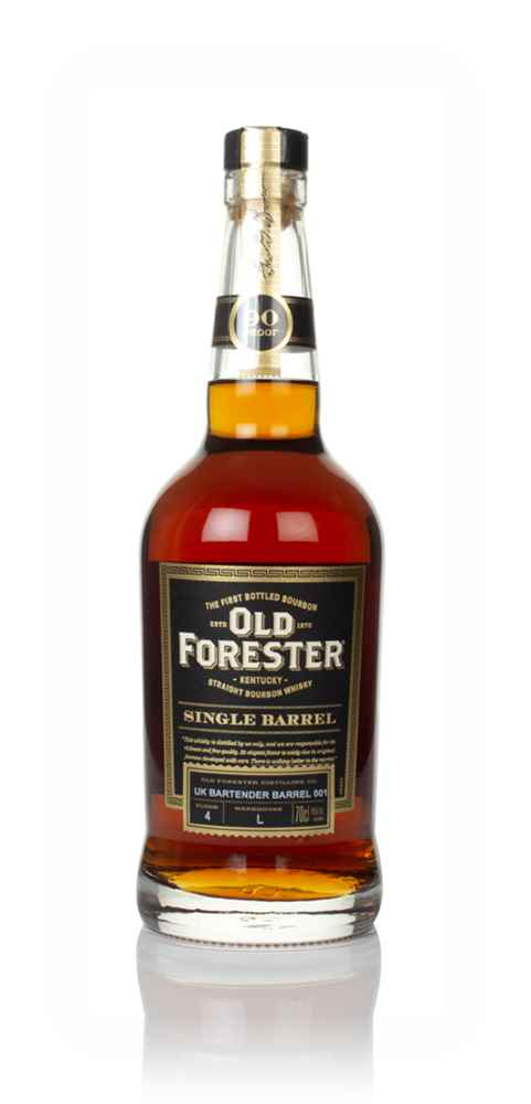Old Forester UK Bartender Barrel 001