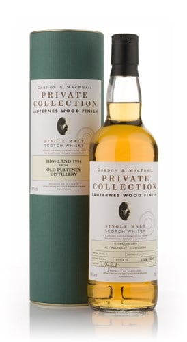 Old Pulteney 1994 Sauternes Wood Finish - Private Collection (Gordon and MacPhail)