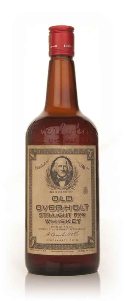 Old Overholt Straight Rye Whiskey - 1960s