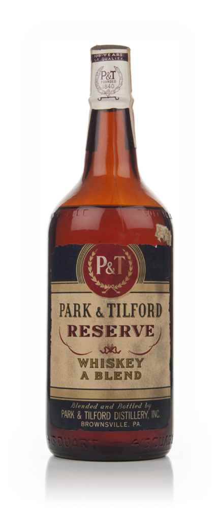 Park And Tilford Reserve Blended Whiskey - Bottled 1946