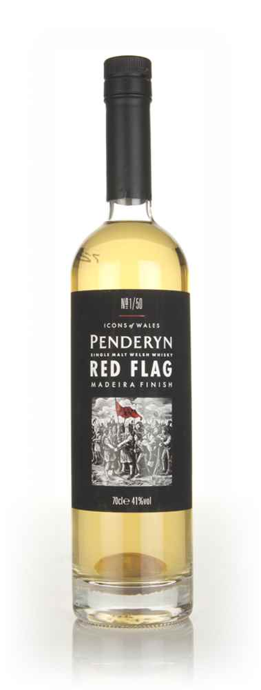 Penderyn Red Flag (Icons of Wales)