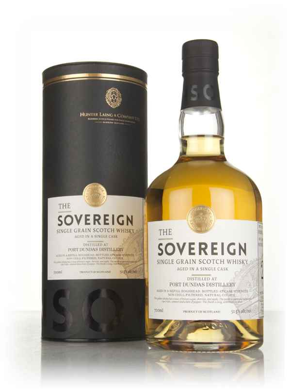 Port Dundas 27 Year Old (cask 14451) The Sovereign (Hunter Laing)