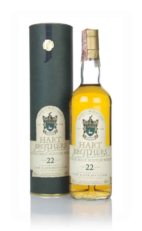Port Ellen 22 Year Old 1975 - Finest Collection (Hart Brothers)