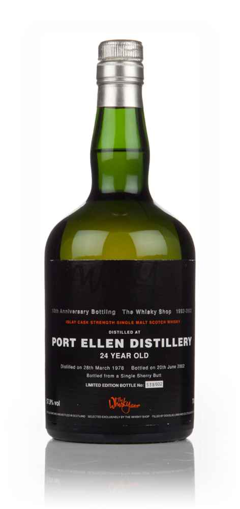 Port Ellen 24 Year Old 1978 (bottled 2002) - The Whisky Shop 10th Anniversary Bottling