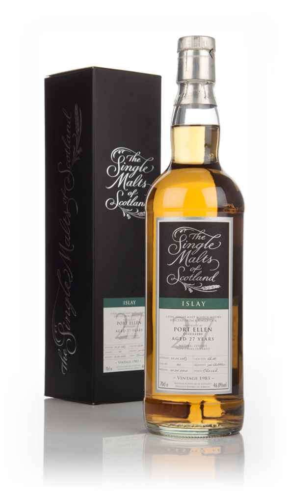 Port Ellen 27 Year Old 1983 (cask 02 - bottled 2010) - Single Malts of Scotland (Speciality Drinks)