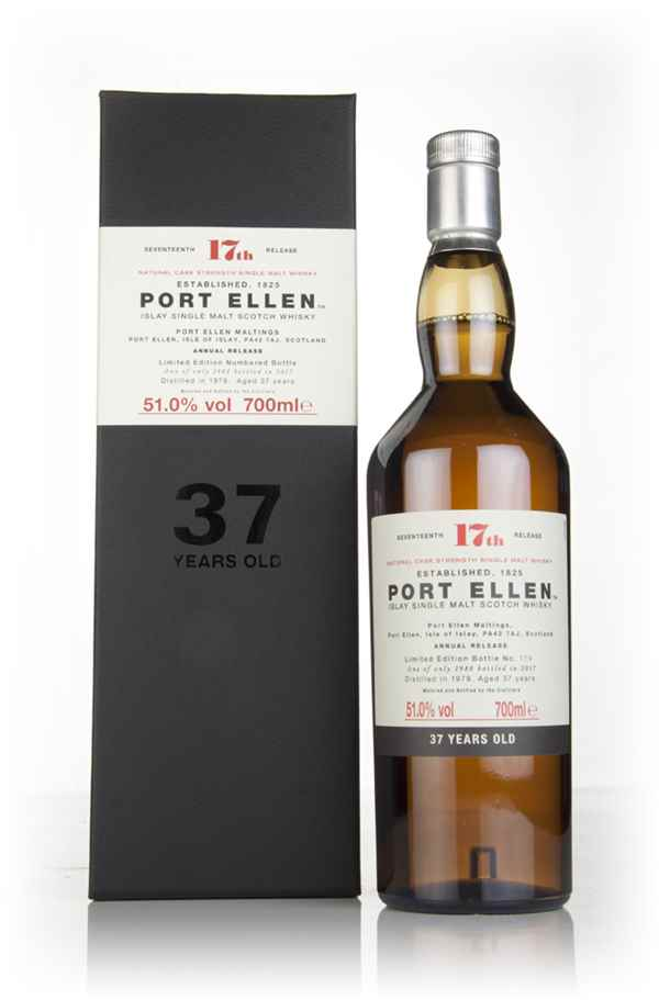 Port Ellen 37 Year Old 1979 - 17th Release (Special Release 2017)