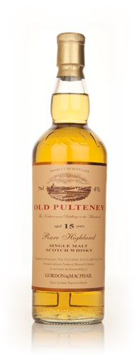 Old Pulteney 15 Year Old (Gordon & MacPhail) 43%