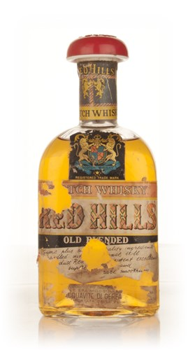 Red Hills Blended Scotch Whisky - 1960s