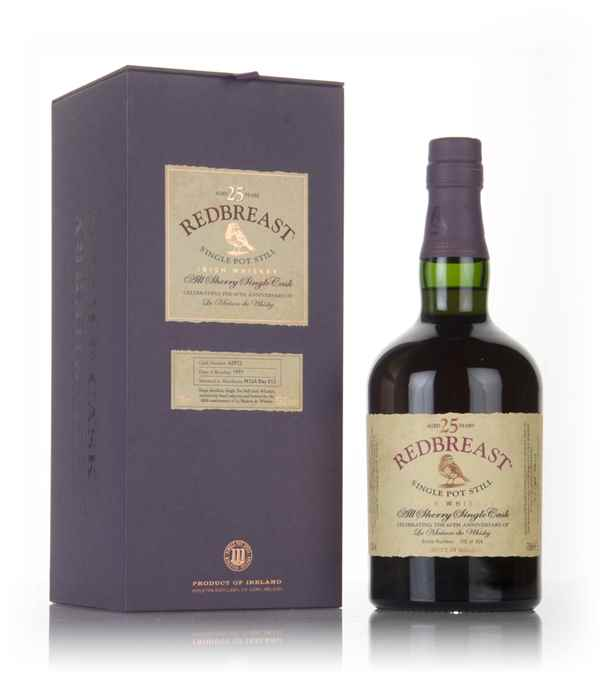Redbreast 25 Year Old 1991 (La Maison du Whisky 60th Anniversary)