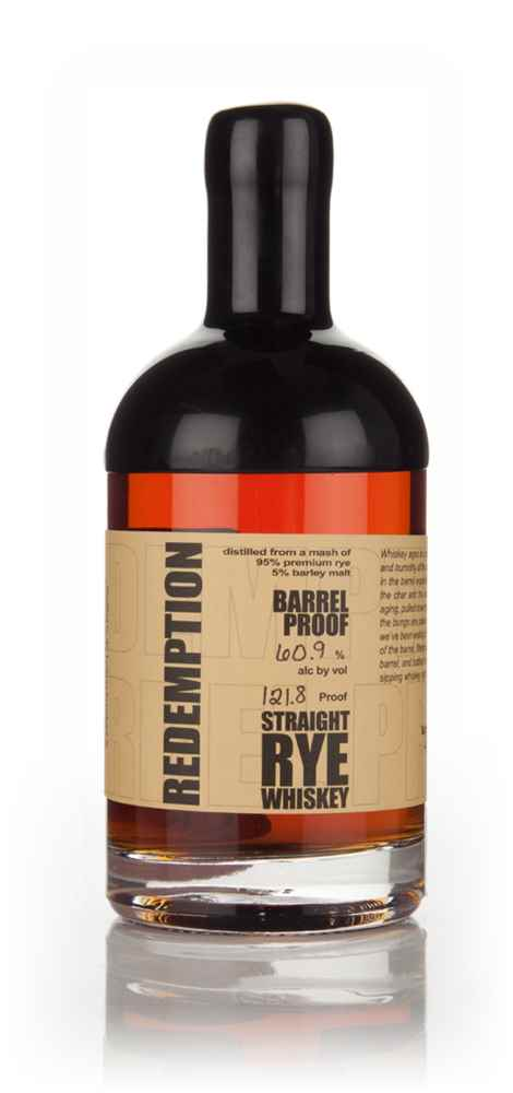 Redemption 6 Year Old Rye - Barrel Proof