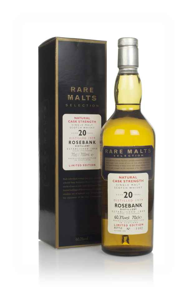 Rosebank 20 Year Old 1979 - Rare Malts
