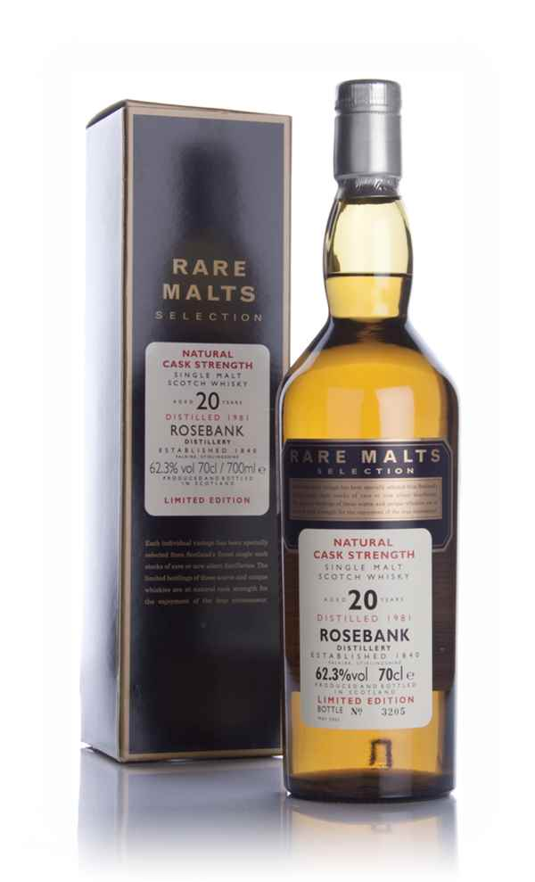 Rosebank 20 Year Old 1981 - Rare Malts