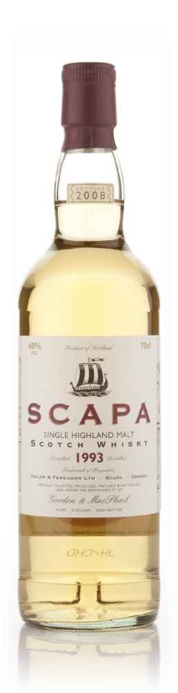 Scapa 1993 (Gordon and MacPhail)