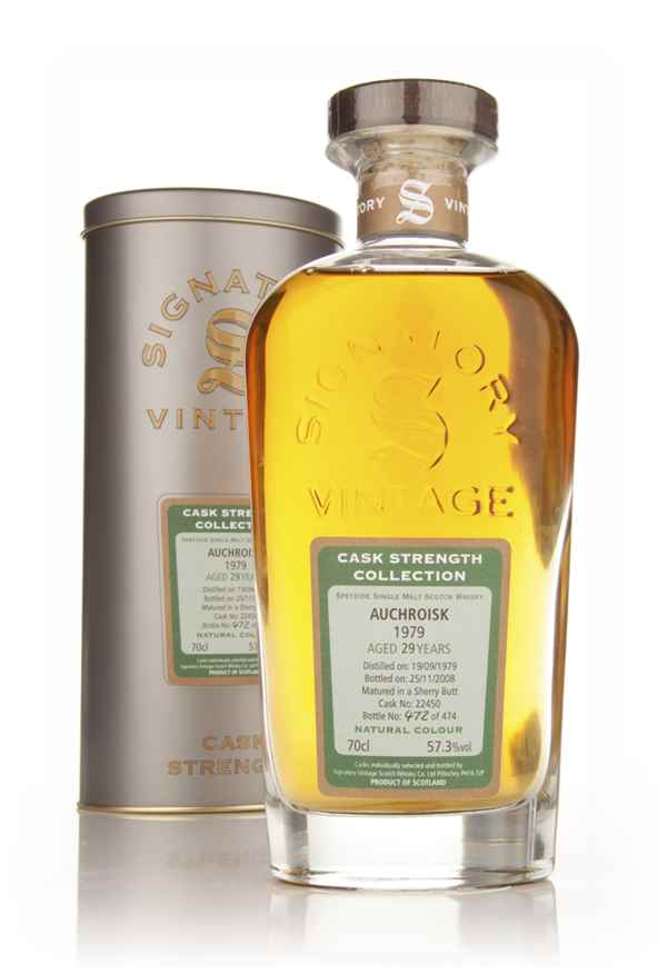 Auchroisk 29 Year Old 1979 - Cask Strength Collection (Signatory)