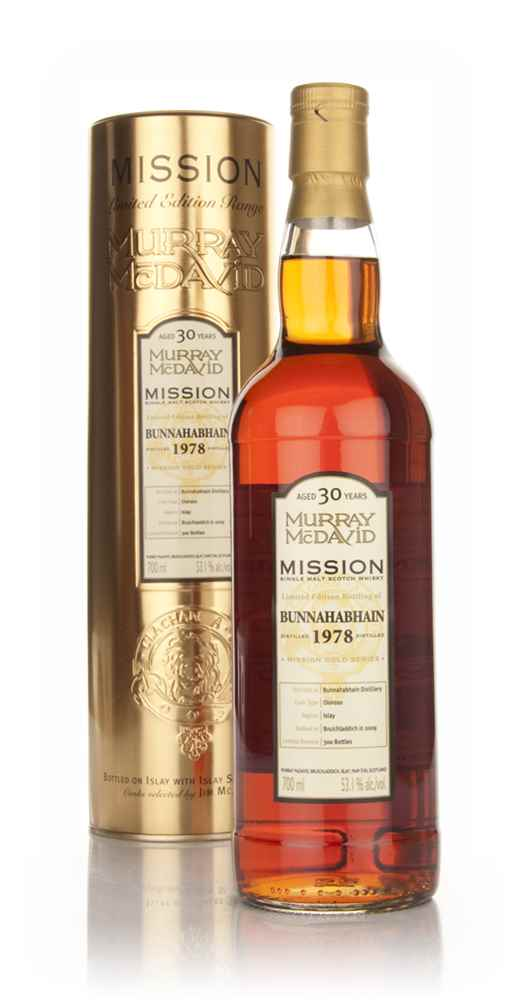 Bunnahabhain 30 Year Old 1978 - Mission (Murray McDavid)