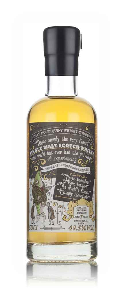 Speyburn 7 Year Old (That Boutique-y Whisky Company)