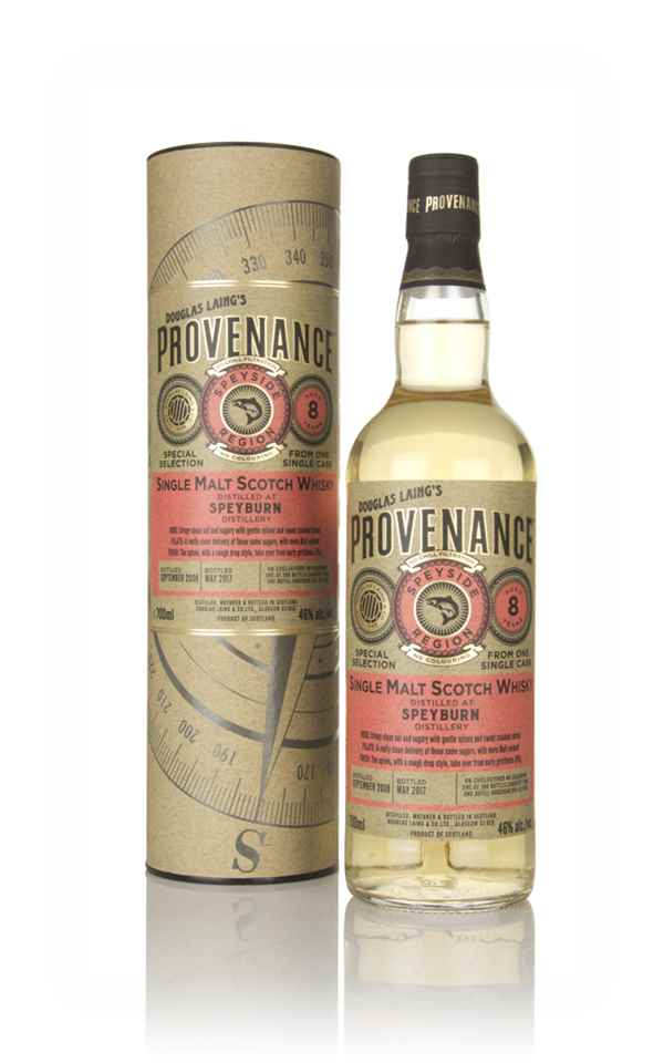 Speyburn 8 Year Old 2008 (cask 11785) - Provenance (Douglas Laing)