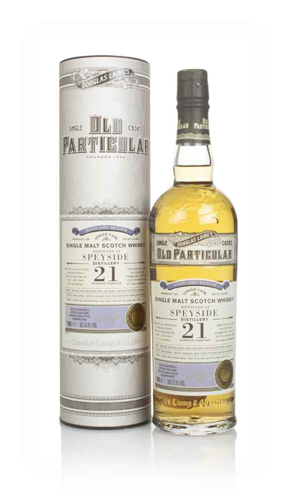Speyside 21 Year Old 1999 (cask 13901) - Old Particular (Douglas Laing)