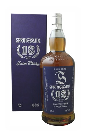Springbank 18 Year Old (Old Edition)