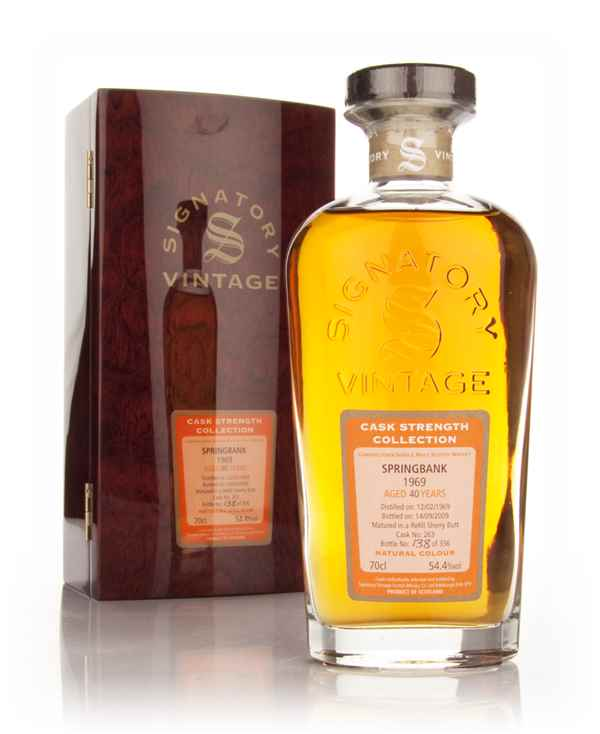 Springbank 40 Year Old 1969 - Cask Strength Collection (Signatory)