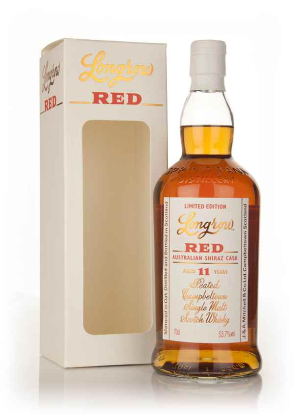 Longrow Red 11 Year Old - Australian Shiraz Cask