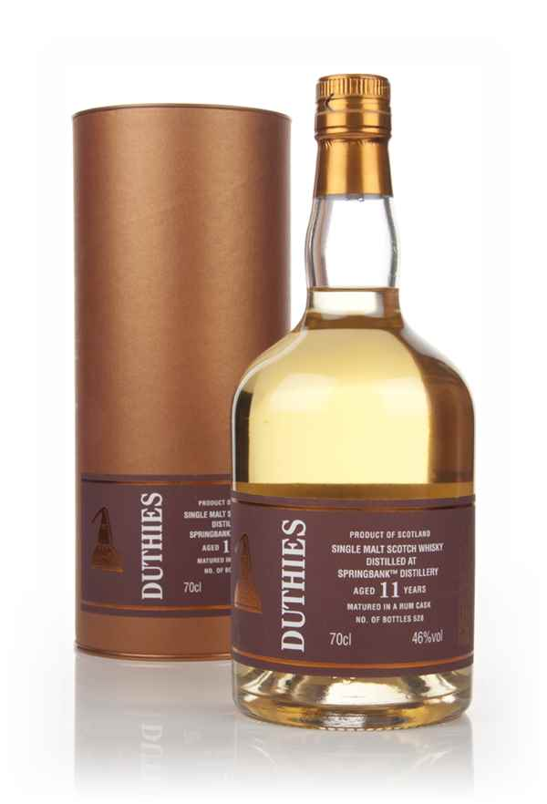 Springbank 11 Year Old - Duthies (WM Cadenhead)