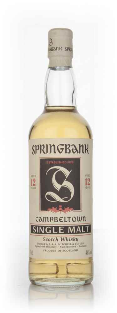 Springbank 12 Year Old - 1990s