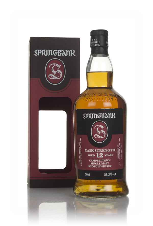 Springbank 12 Year Old Cask Strength - 55.3%