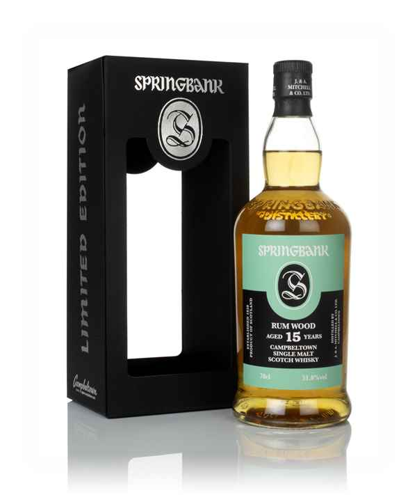 Springbank 15 Year Old - Rum Wood