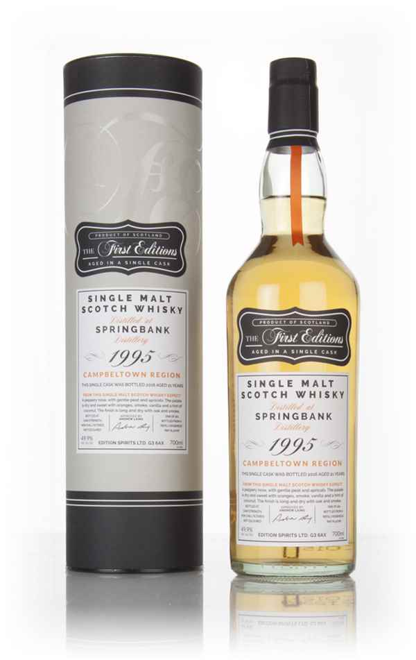 Springbank 21 Year Old 1995 (cask 12708) - The First Editions (Hunter Laing)