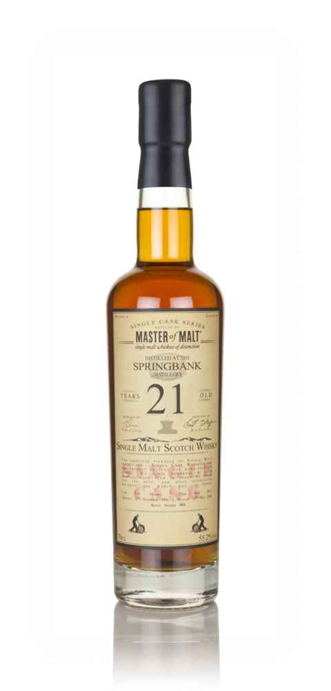 Springbank 21 Year Old 1996 - Single Cask (Master of Malt)
