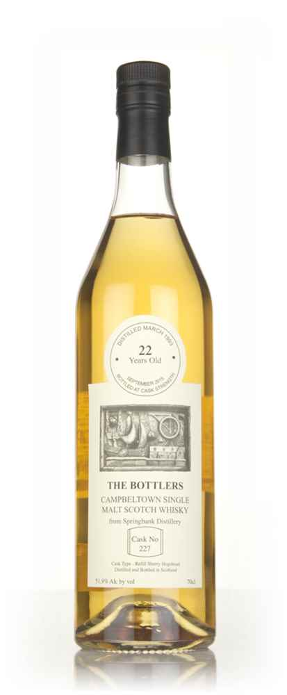 Springbank 22 Year Old 1993 (cask 227) - The Bottlers