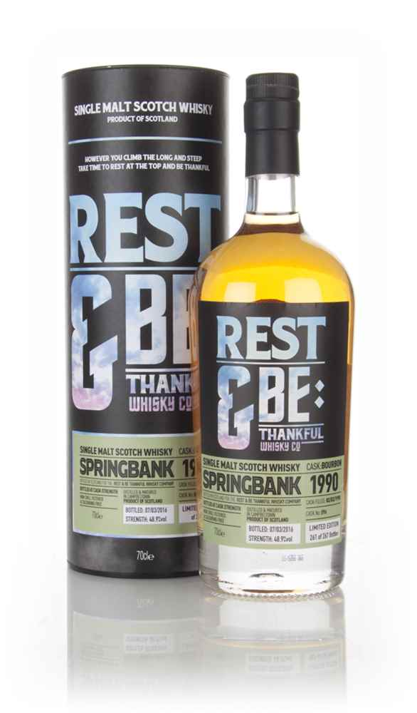 Springbank 26 Year Old 1990 (cask 096) (Rest & Be Thankful)