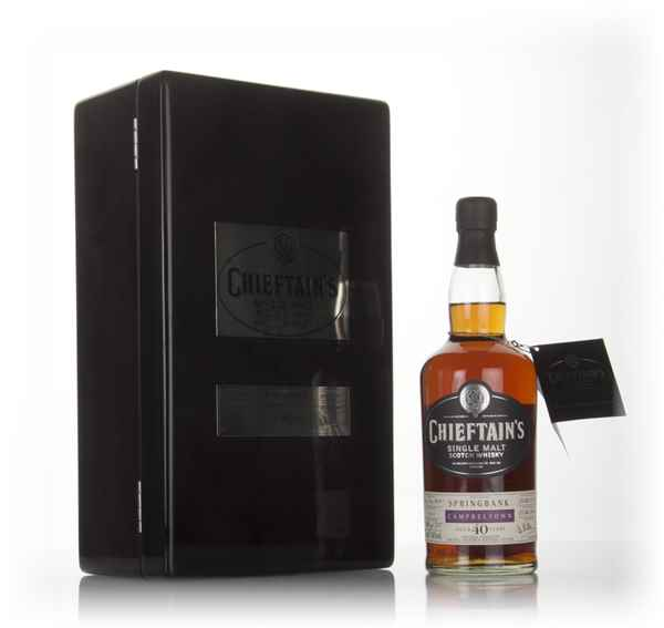 Springbank 40 Year Old 1968 (cask 1414) - Chieftain's (Ian Macleod)