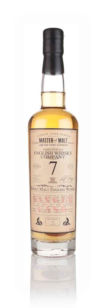 English Whisky Co. 7 Year Old 2008 (cask B1/490) - Single Cask (Master of Malt)