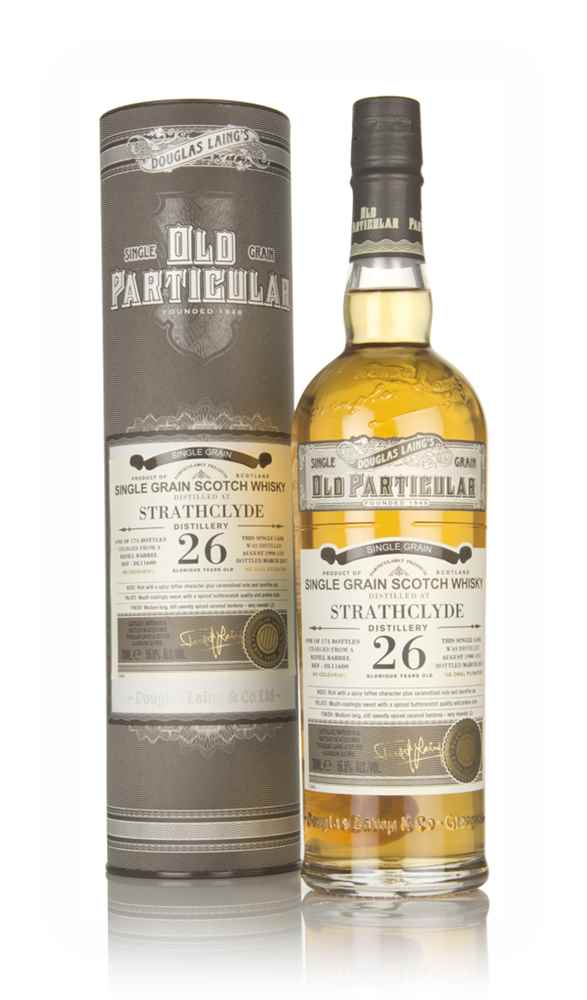 Strathclyde 26 Year Old 1990 (cask 11600) - Old Particular (Douglas Laing)