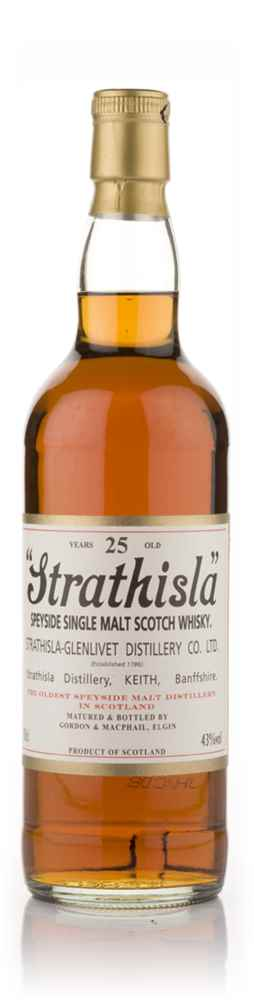 Strathisla 25 Year Old (Gordon and MacPhail)