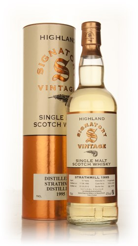 Strathmill 16 Year Old 1995 (casks 1824+1825) (Signatory)