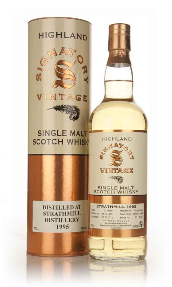 Strathmill 17 Year Old 1995 (casks 2663+2664) - (Signatory)