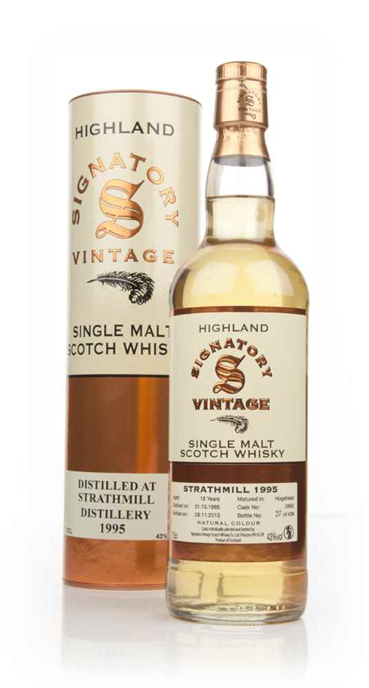 Strathmill 18 Year Old 1995 (cask 2662) - (Signatory)