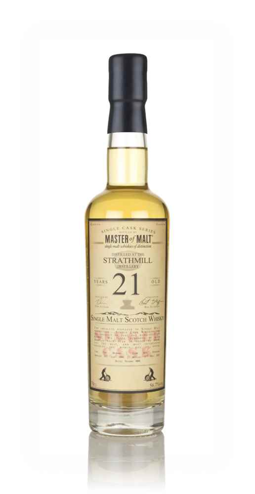Strathmill 21 Year Old 1996 - Single Cask (Master of Malt)