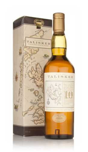 Talisker 10 Year Old (Old Bottling with Map Label)