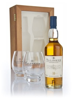 Talisker 10 Year Old with Tasting Glasses 20cl