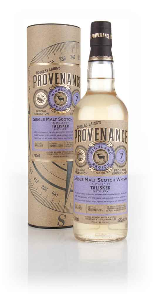 Talisker 7 Year Old 2008 (cask 10973) - Provenance (Douglas Laing)