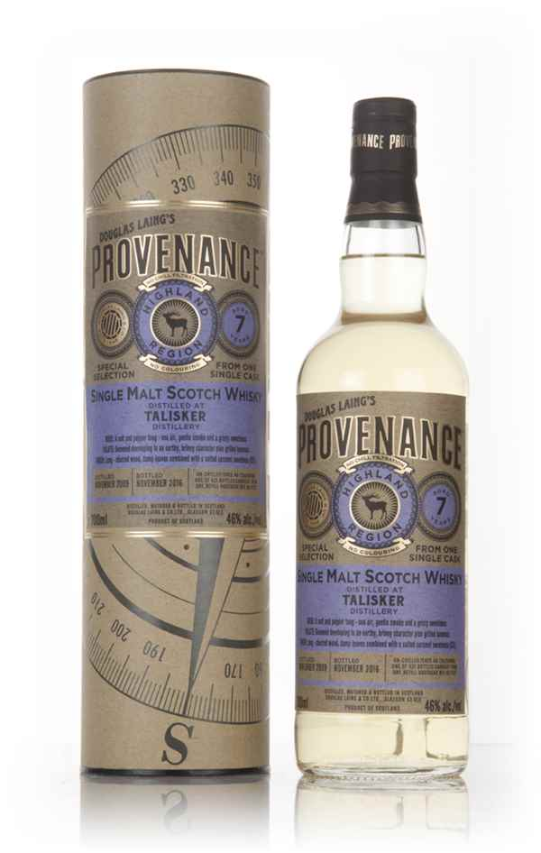 Talisker 7 Year Old 2009 (cask 11521) - Provenance (Douglas Laing)