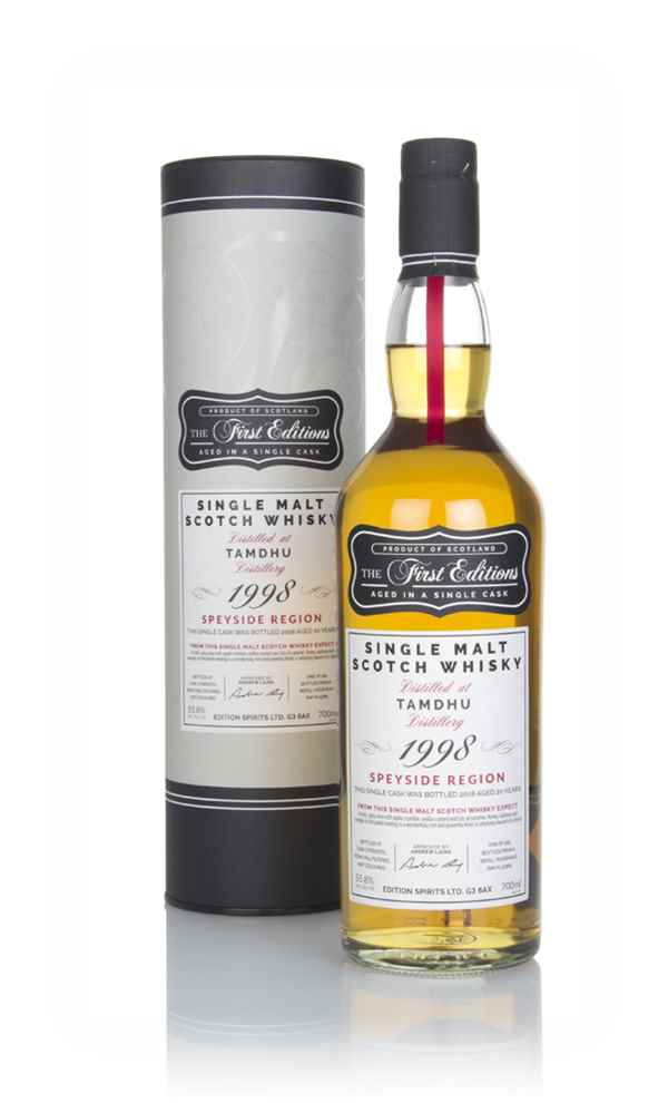 Tamdhu 20 Year Old 1998 (cask 15369) - First Editions (Hunter Laing)
