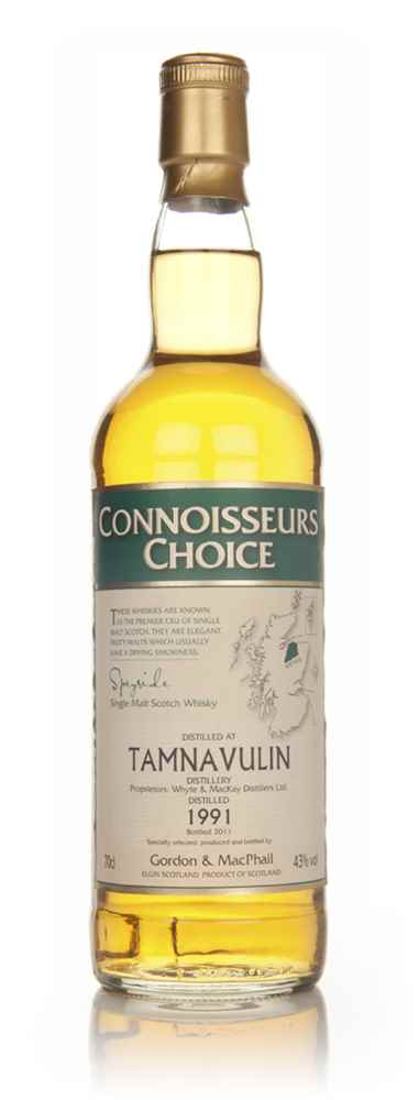 Tamnavulin 1991 - Connoisseurs Choice (Gordon and MacPhail)