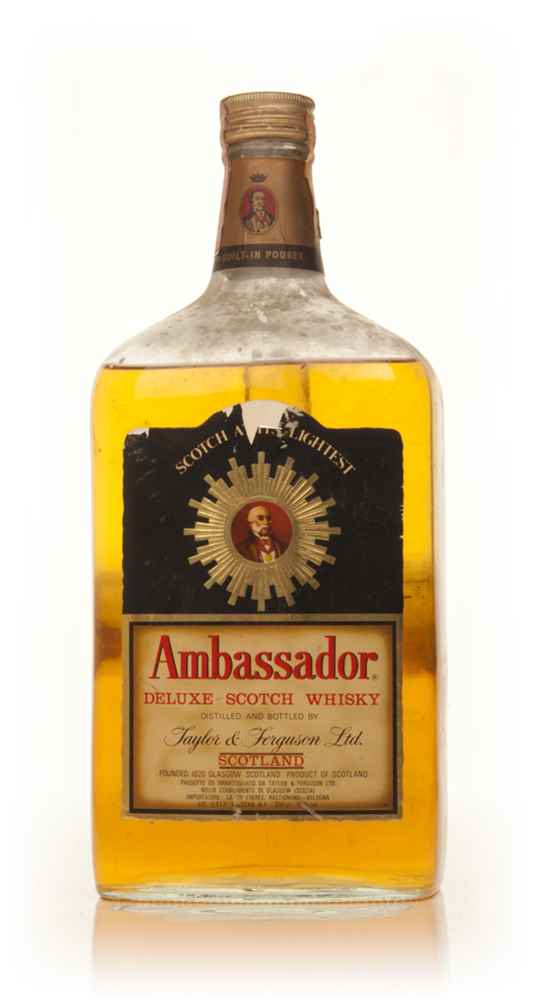 Ambassador Deluxe Blended Scotch Whisky - 1970s